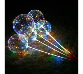 Воздушный шар на хлысте с подсветкой