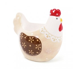 "Подставка для яйца ""Курочка бежевая"" 8 см"