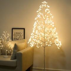 """Светодиодное дерево """"Матовые шарики"""" 150 см, 360 светодиодов, USB"""
