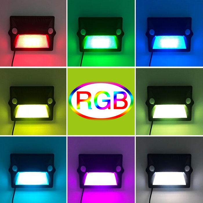 RGB фонарь с интелектуальным светом, датчиками движения, на солнечной энергии