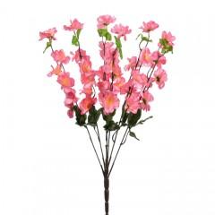Букет сакура атлас 53 см - рожева