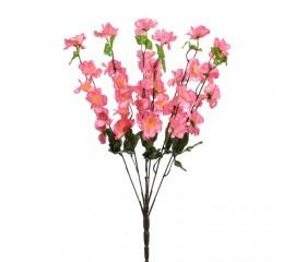 Букет сакура атлас 53 см - розовая