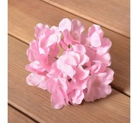 Головка гортензии - розовая