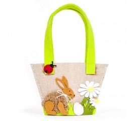 """Пасхальная сумочка """"Кролик коричневый"""""""
