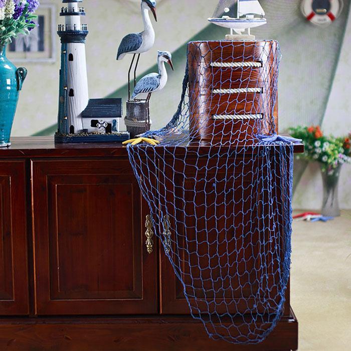 Декоративная сетка 150х200 см - синяя