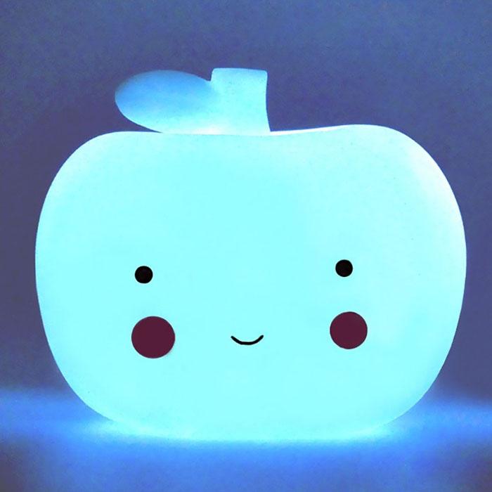 """LED светильник """"Яблоко голубое"""""""