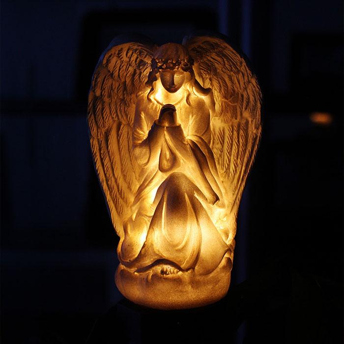 """""""Фигурка ангел"""" с подсветкой, на солнечной батарее"""