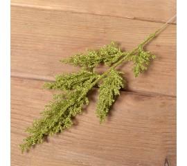 Веточка кипарис блеск 33 см - зеленая