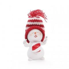"Фигурка ""Снеговик с барабаном"" 6,5 см"