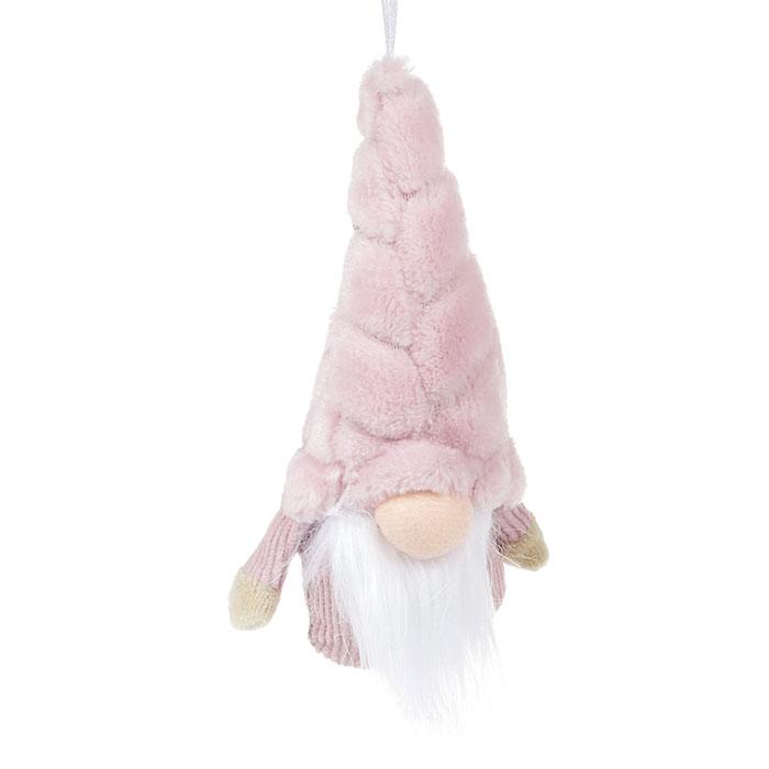 """Подвеска """"Гномик в розовом"""" 14 см"""
