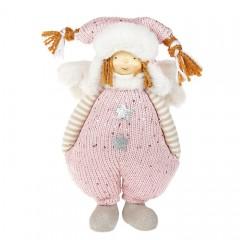 """Мягкая игрушка """"Мальчик в розовом костюме"""" 29 см"""
