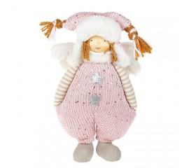 """М'яка іграшка """"Хлопчик в рожевому костюмі"""" 29 см"""