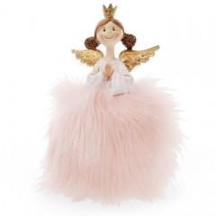 """Фигурка """"Принцесса-ангел в розовой юбке"""" 16 см"""