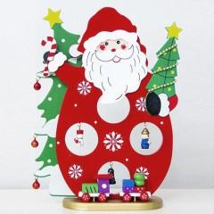 """Фигурка """"Санта с игрушками и бубенчиками"""""""