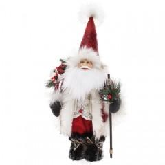 """Новогодняя игрушка """"Санта"""" 40 см"""