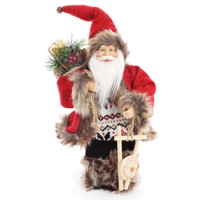 """Новогодняя игрушка """"Санта"""" 30 см"""