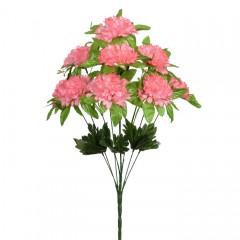 Букет калинка с розеткой - розовая 50 см