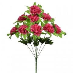 Букет калинка с розеткой - красная 50 см