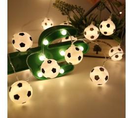 "Гирлянда ""Футбольные мячи"" 10 ламп 1,5 м"