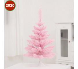 Розовая елочка 90 см
