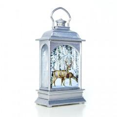 Підсвічник зі свічкою - срібло 12,5 см