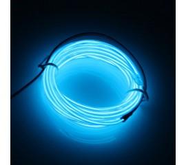 """Подсветка """"Неон"""" на батарейках 3 режима, 3 м - синяя"""