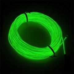 """Підсвічування """"Неон"""" на батарейках 3 режиму, 3 м - зелена"""