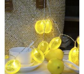 "LED гирлянда ""Дольки лимона"" 20 ламп 3 м"
