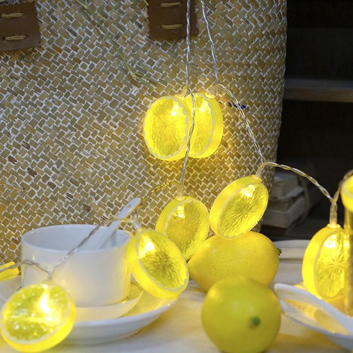 "LED гирлянда ""Дольки лимона"" 35 ламп 5 м"
