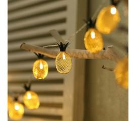 """LED гирлянда """"Ананас"""" 10 ламп, 1,5 м"""