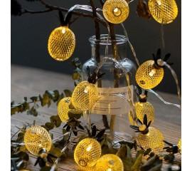 """LED гирлянда """"Ананас"""" 20 ламп, 3 м"""