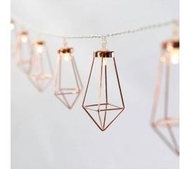 """LED гирлянда """"Скандинавская"""" 10 ламп 1,5 м, usb"""
