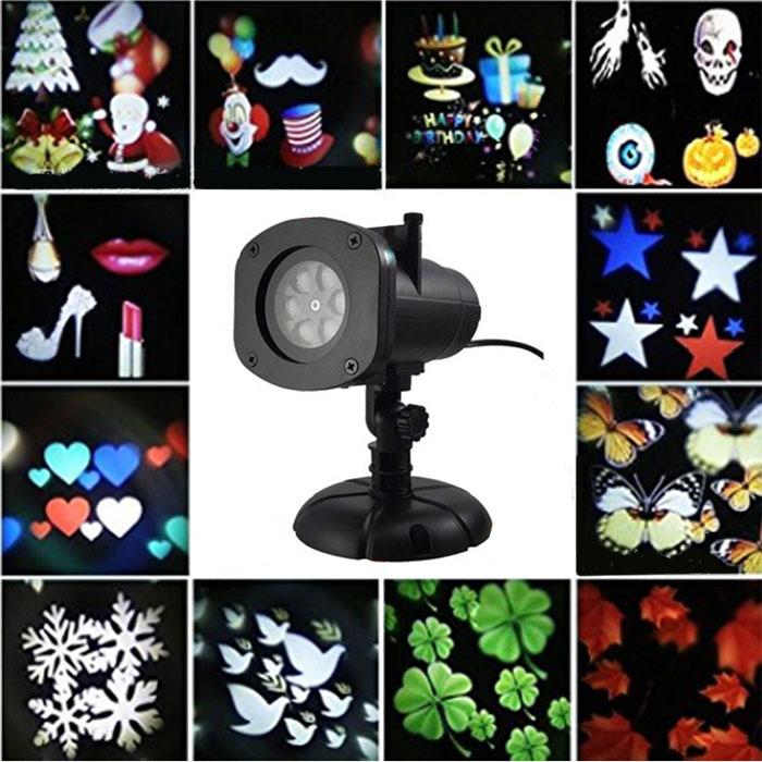 Анимационный LED проектор для всех праздников