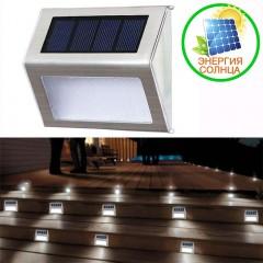 Светильник для подсветки ступенек на солнечной батарее