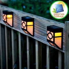 Декоративный светильник на солнечной батарее