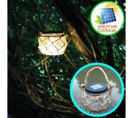 Декоративный подвесной фонарик на солнечной батарее