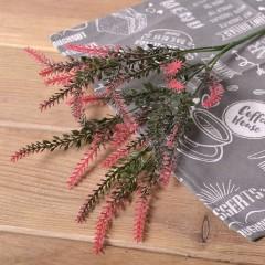 Букет зелени вереск - красный