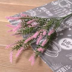 Букет зелени вереск - розовый