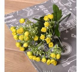 Букетик мини розочки - желтые