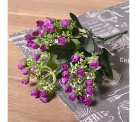 Букетик мини розочки - фиолет