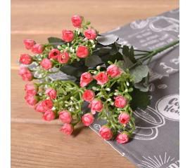 Букетик мини розочки - розовые