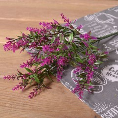 Букет лаванда с листиками - фиолет