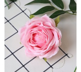"""Головка розы """"Премиум"""" розовая"""
