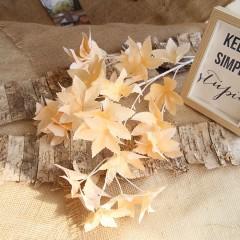 Ветка лист клена премиум - персиковая