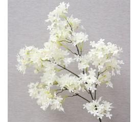 "Ветка ""Мелкоцвет"" белая"