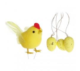 """Набор """"Курочка + подвесные яйца"""""""