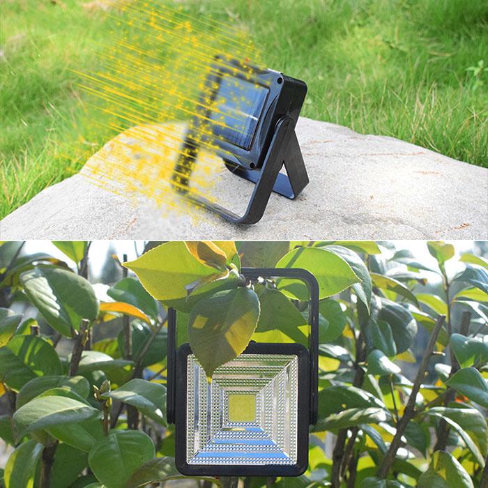 Мини-прожектор f-001, на солнечной батарее  + зарядка USB + Power Bank