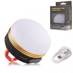 Аккумуляторный фонарь + Power Bank f-004