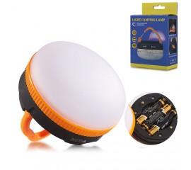 Кемпинговый фонарь f-006, 5 режимов, на батарейках