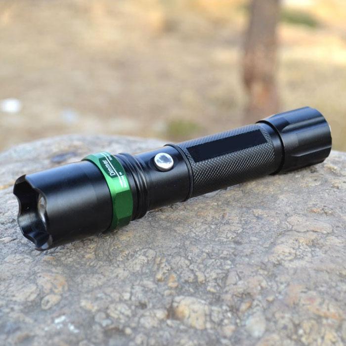 Аккумуляторный фонарик f-024, с прямой зарядкой USB, 3 режима